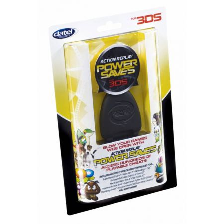 Action Replay Power Saves Nintendo 3Ds & 3Ds XL