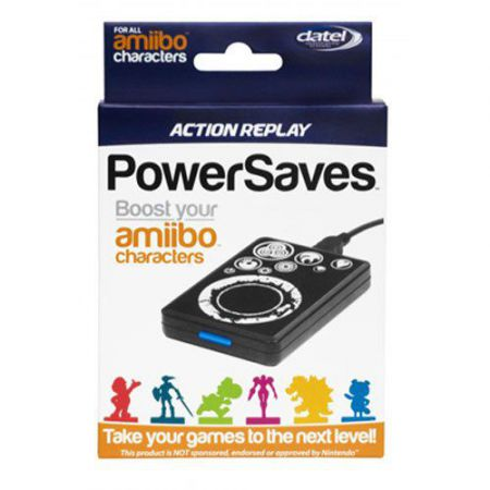 Action Replay PowerSaves Amiibo Nintendo Wii U - Plug & Play