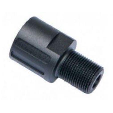 Adaptateur Silencieux Pour Réplique Scorpion EVO 3A1 ASG (18mm vers 14mm antihoraire) - 17950