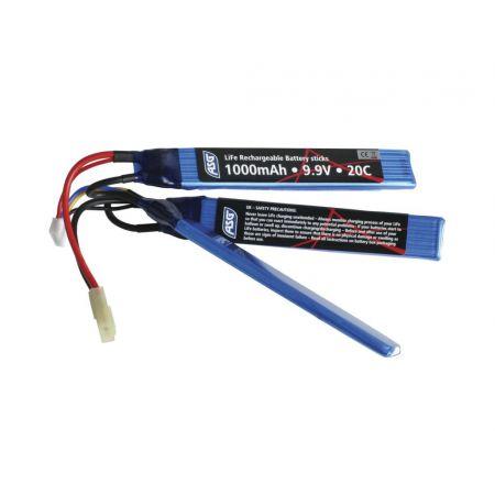 Batterie LiFe 9.9v Airsoft - 1000mAh - 20C - 17457