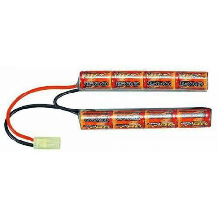 Batterie NiMH 9.6v - 1600mAh Type Nunchuck (8 Elements) - Mini Tamiya - VB Power