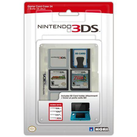 Boitier De Rangement 24 Jeux Transparent 3DS DSi & XL Ds Lite Officiel Nintendo Hori - 3DS-022U