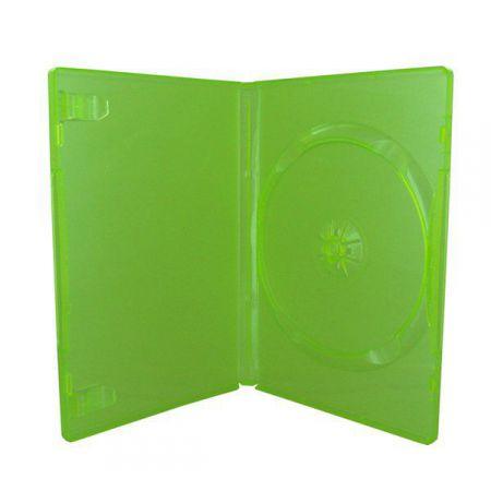 Boitier Vert Translucide CD / DVD / Jeux Video Xbox 360
