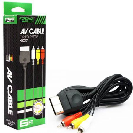 Cable AV Peritel Console Xbox KMD