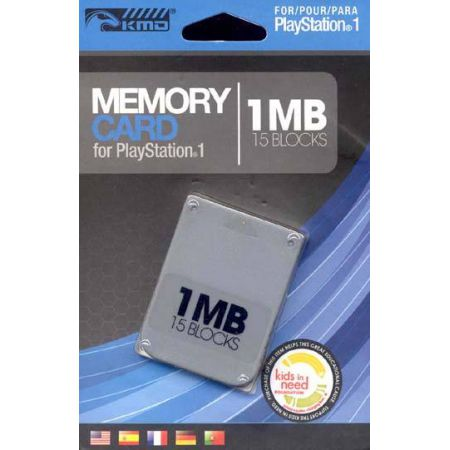 Carte Memoire 1Mo (15 Blocks) Pour Ps1 et Ps One KMD