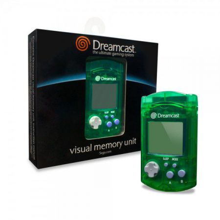Carte Memoire Officielle Sega Dreamcast - VMU Visual Memory Unit - Verte - ADC1223