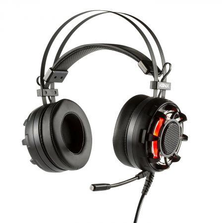 Casque 7.1 Vibrant + Micro Drakkar Ragnarok - PC Pro Gaming Headset - Konix