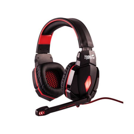Casque + Micro Filaire Gaming UC-250 Pour Pc - Under Control 61505