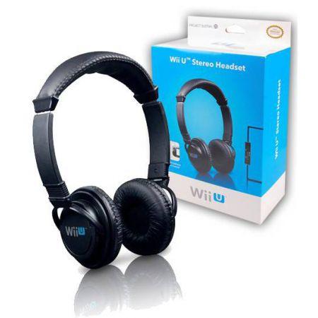 Casque + Micro Officielle Nintendo Wii U - AWIIU0218