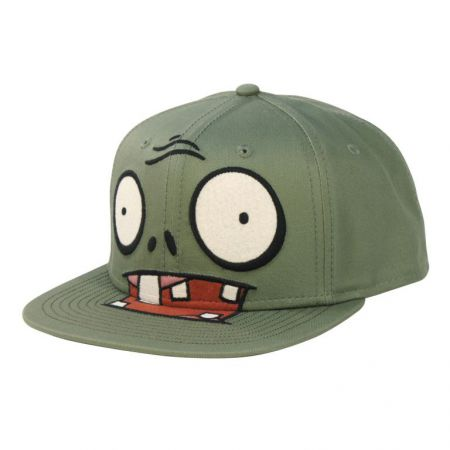 Casquette US FLAT Snapback Plants vs Zombies - PD-CQT-5362