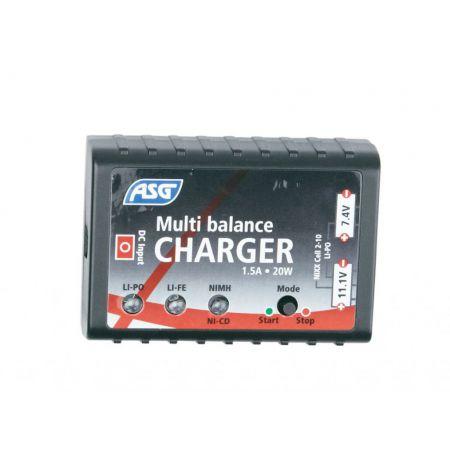 Chargeur Secteur Batterie LiPO / LiFE / NiMH / NiCD Multi Balance - Auto Stop - 17205