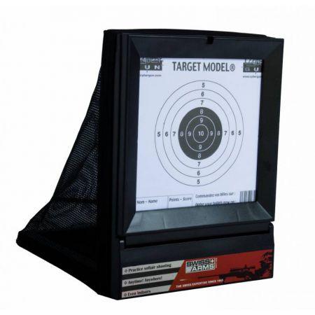 Cible Avec Filet Swiss Arms 250x185mm 603404