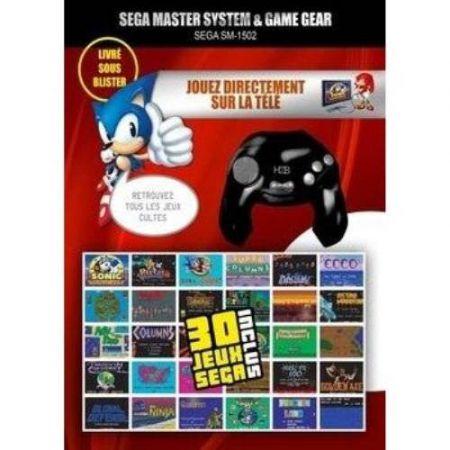 Console Plug & Play SM-1502 Sega Master System & Game Gear + 30 jeux