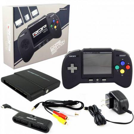 Console RetroDuo Portable RDP V2.0 Core Edition Noire