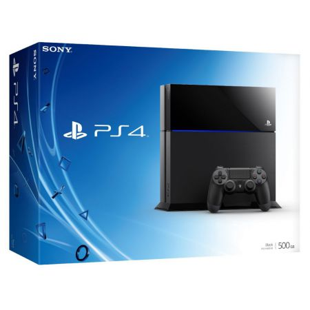 Console Sony Playstation 4 PS4 500go - Noire