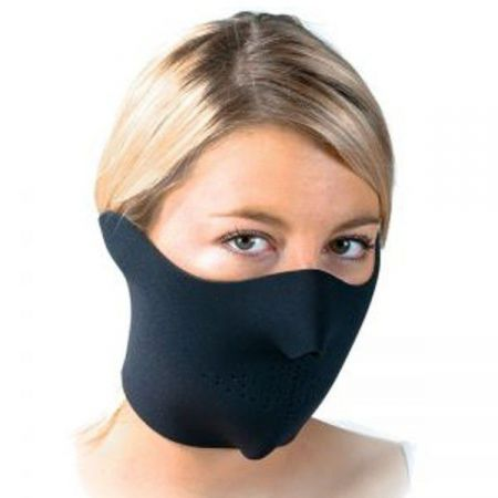 Demi Masque Neoprene Protection Bas Visage Noir - 67124