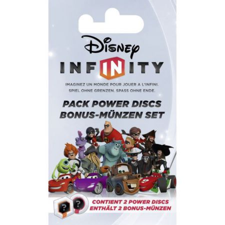 Disney Infinity - Lot de 2 Power Discs Wii & Wii u Ps3 Xbox 360 Nintendo Ds