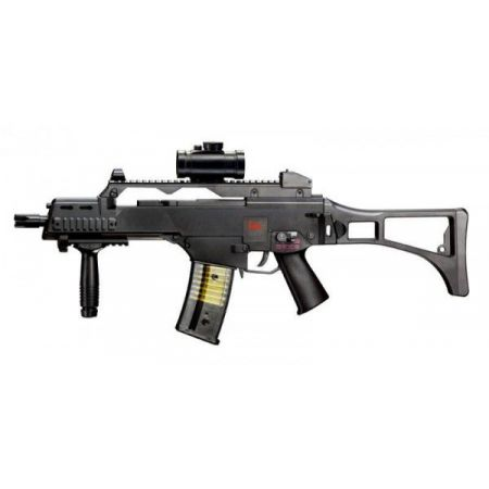 Fusil � Billes HK G36C Spring Noir (H&K Heckler & Koch G36) - 25620