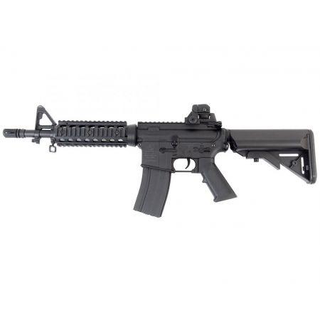 Fusil Colt M4 CQB CQBR RIS AEG Electrique - Noir Nylon Fibre CM002 - 180839
