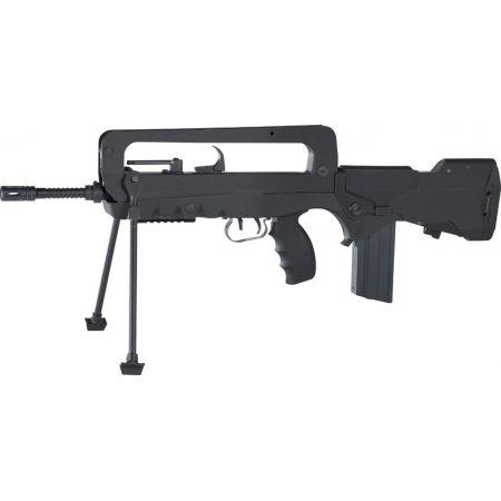 Fusil FAMAS F1 Nylon Fibre & Metal Electrique AEG - Bipied - 400907