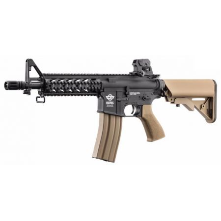 Fusil G&G M4 CM16 CM 16 Raider DST AEG CQB Court Noir et Tan Guay Guay