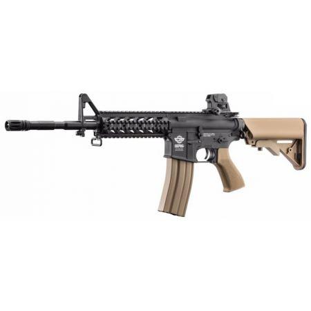 Fusil G&G M4 CM16 CM 16 Raider-L DST AEG Long Noir et Tan - Guay Guay