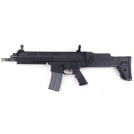 Fusil ISSC CQC MK22 Commando (SCAR-L) AEG - Classic Army - Noir