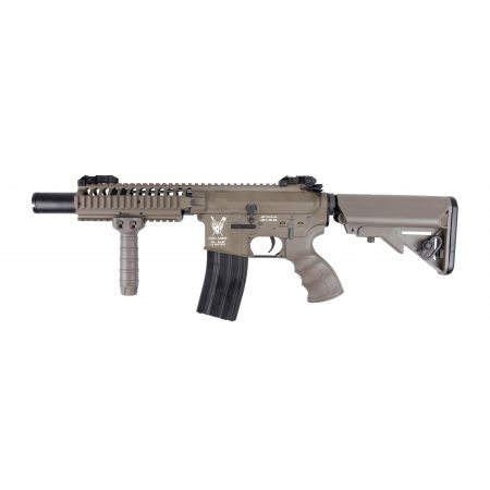 Fusil KA VLTOR M4 VIS CQB AEG King Arms Elite - Dark Earth KA-AG-162-DE