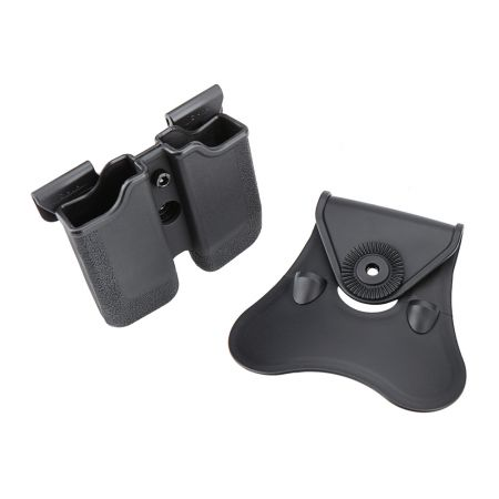Holster Rigide CYTAC CQC Polymère Porte Chargeur Type PX4 P30 USP SR9 SIGMA 24/7 - CY-MP