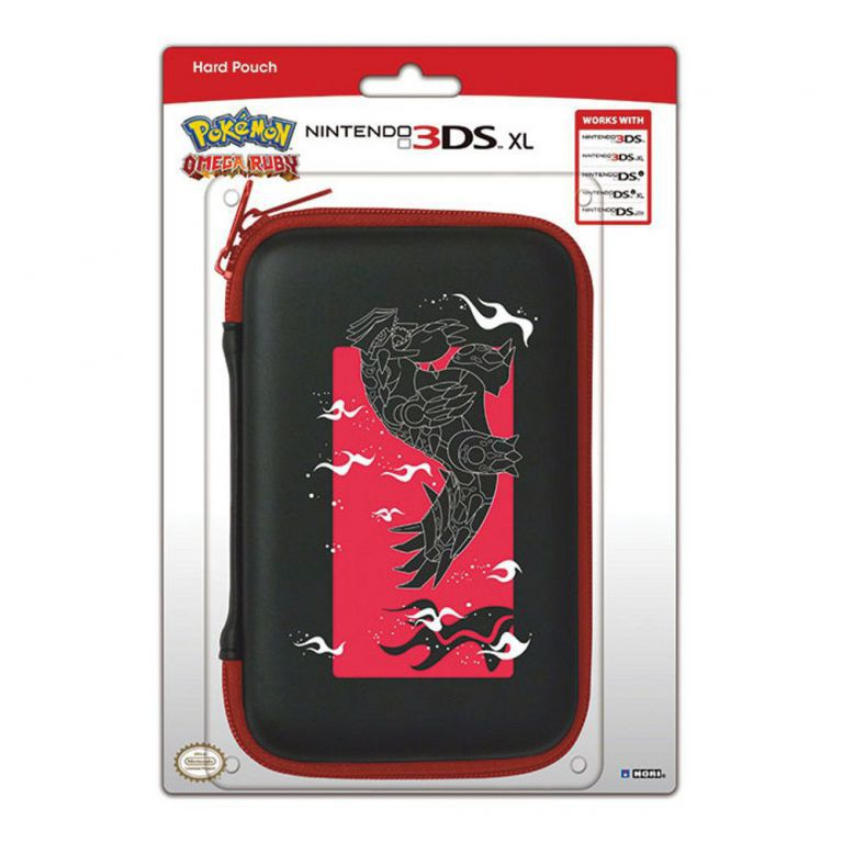 Housse protection sacoche rigide pokemon omega ruby 3ds xl for Housse 3ds xl
