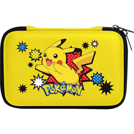 Housse protection sacoche rigide pokemon pikachu 3ds xl for Housse 2ds pokemon