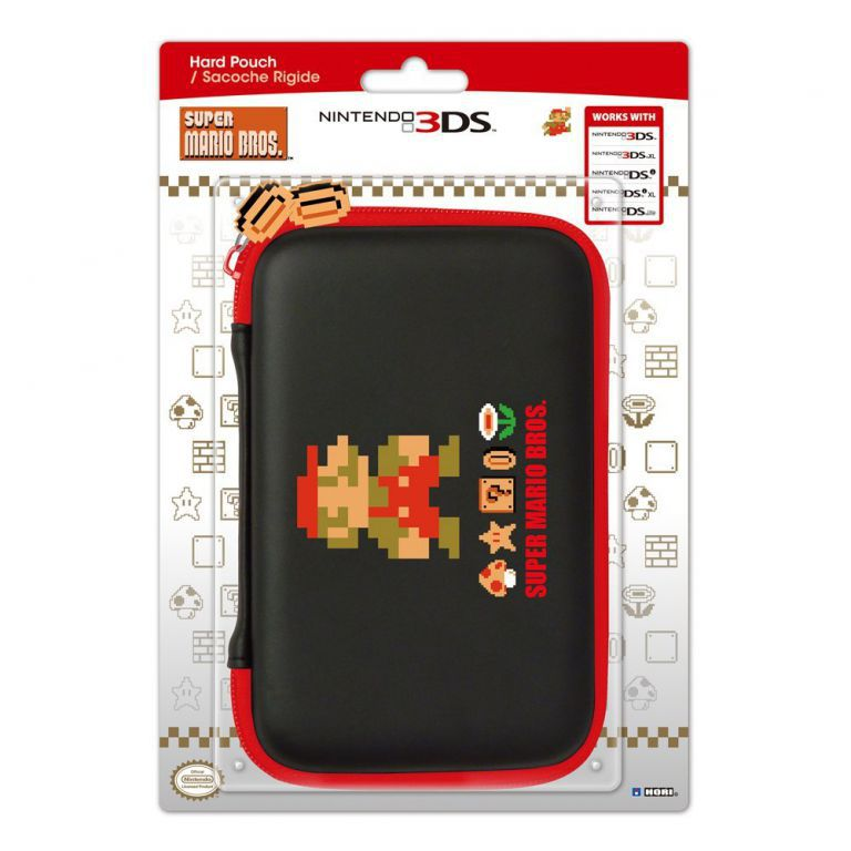 Housse protection sacoche rigide super mario bros 3ds xl for Housse nintendo 2ds xl