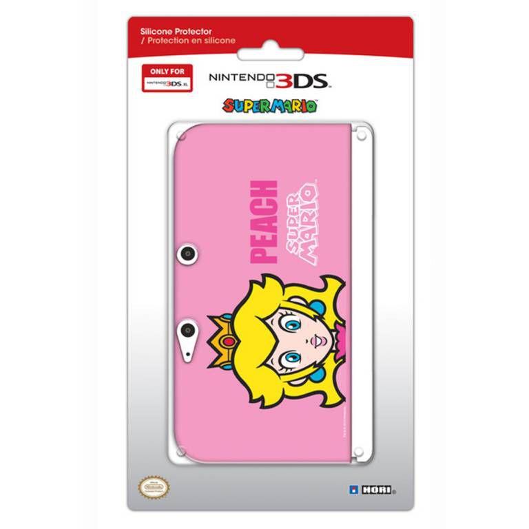 catalogue accessoires ds xl housse protection silicone rose peach console nintendo u parent  fiche