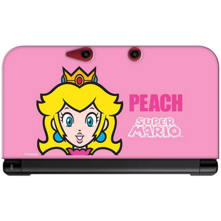 Housse protection silicone rose peach console nintendo 3ds for Housse nintendo 3ds xl