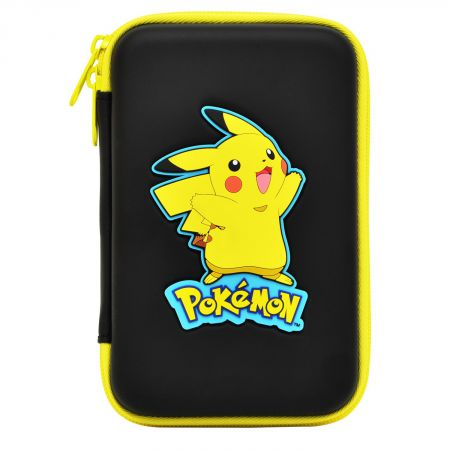 Housse sacoche rigide pokemon pikachu nintendo new 3ds xl for Housse 2ds xl pokemon
