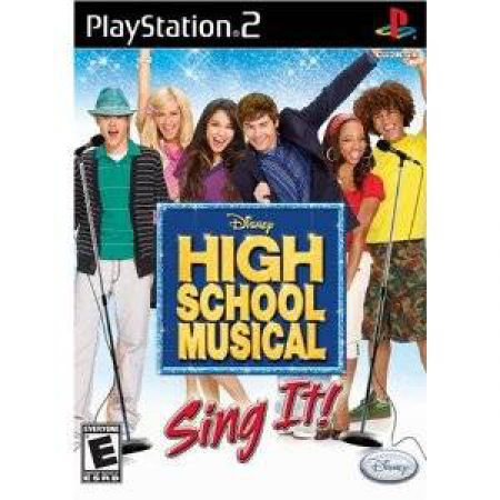 JEU CONSOLE PS2 HIGH SCHOOL MUSICAL TOUS EN SCENE