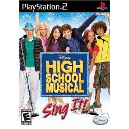 JEU CONSOLE PS2 HIGH SCHOOL MUSICAL TOUS EN SCENE
