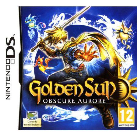 Jeu Ds Dsi 3Ds - Golden Sun Obscure Aurore
