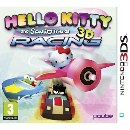 Jeu Nintendo 3Ds - Hello Kitty & Sanrio Friends Racing 3D