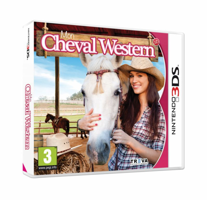 jeu nintendo 3ds mon cheval western 3d j3ds0281 jeux video 3. Black Bedroom Furniture Sets. Home Design Ideas