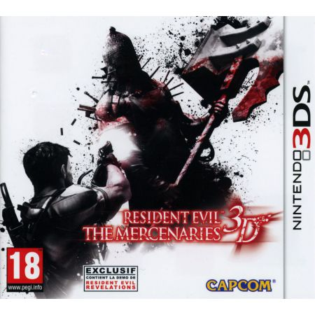 Jeu Nintendo 3Ds - Resident Evil : The Mercenaries 3d - J3DS0915