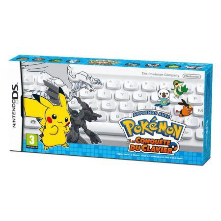 Jeu Nintendo Ds - Apprends Avec Pokemon : A La Conquete Du Clavier