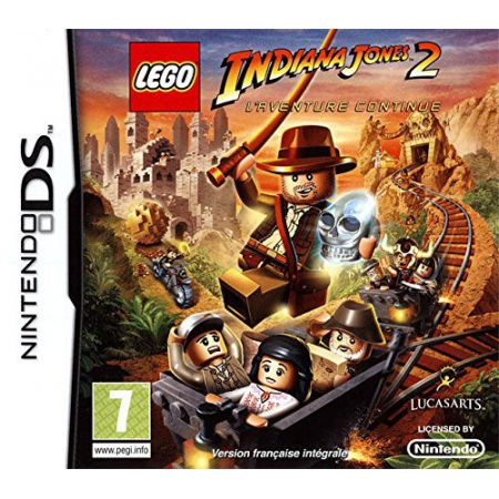 Jeu Nintendo Ds - Lego Indiana Jones 2 : L'aventure Continue