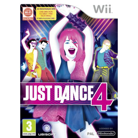 Jeu Nintendo Wii - Just Dance 4