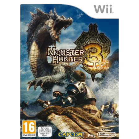 Jeu Nintendo Wii - Monster Hunter 3 tri