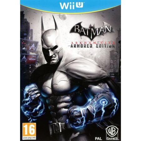 Jeu Nintendo Wii U - Batman Arkham City Armored Edition