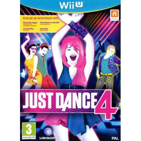 Jeu Nintendo Wii U - Just Dance 4