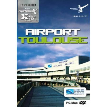 Jeu Pc - Add-on Microsoft Flight Simulator X - Airport Toulouse