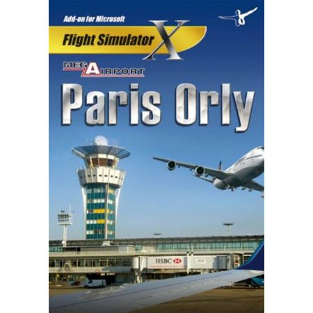 Jeu Pc - Add-on Microsoft Flight Simulator X - Mega Airport Paris Orly