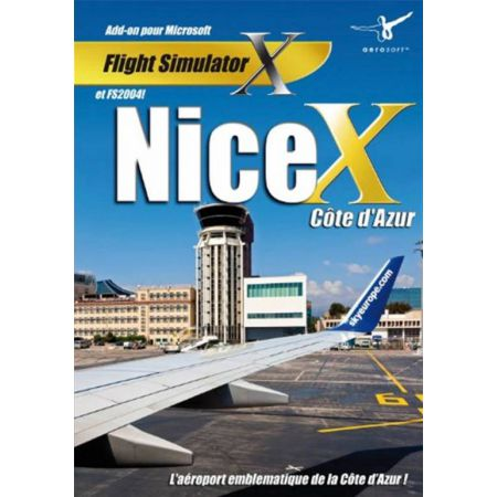 Jeu Pc - Add-on Microsoft Flight Simulator X - Nice X Cote d'Azur